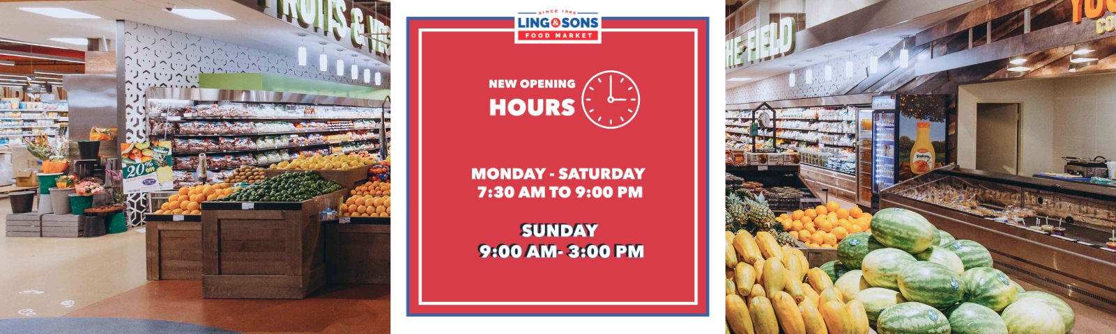 Sunday Hours Ling and Sons slide