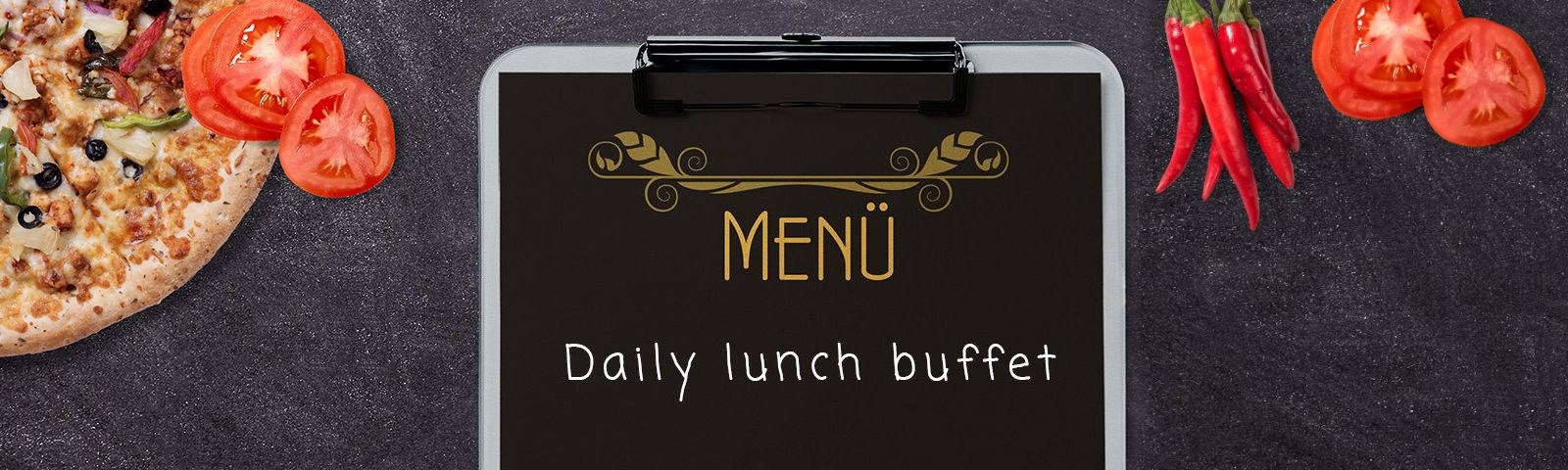 Lunch Menu slide